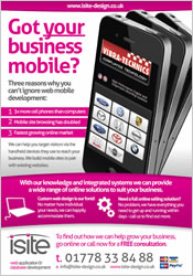 Click to download details on on our mobile websites